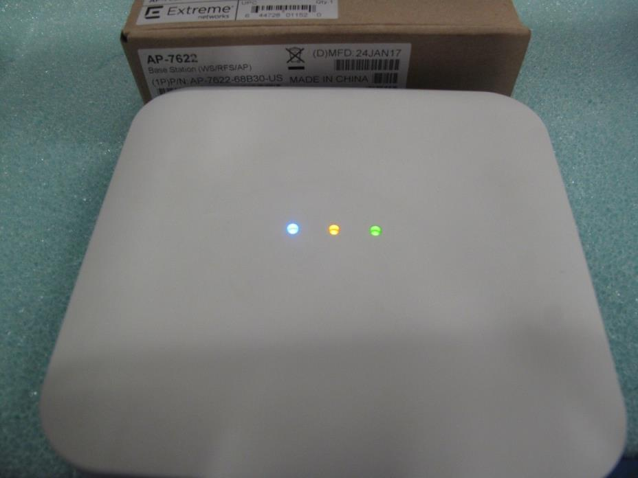 Extreme Networks AP7622 Dual Radio 802.11a/b/g/n Access Point AP-7622-68B30-US