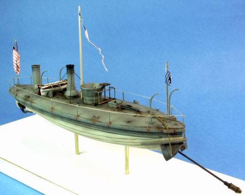 Civil War Union Torpedo Boat U.S.S. Spuyten Duyvil Model Kit Scale: 1/96