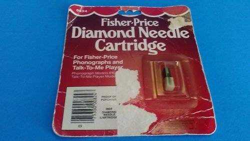VINTAGE NEW  FISHER-PRICE 1984  DIAMOND NEEDLE  RECORD PLAYER CARTRIDGE  0824