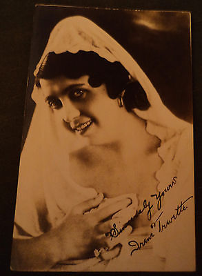 RPPC postcard irene trevette maid of the allies real photo postcard