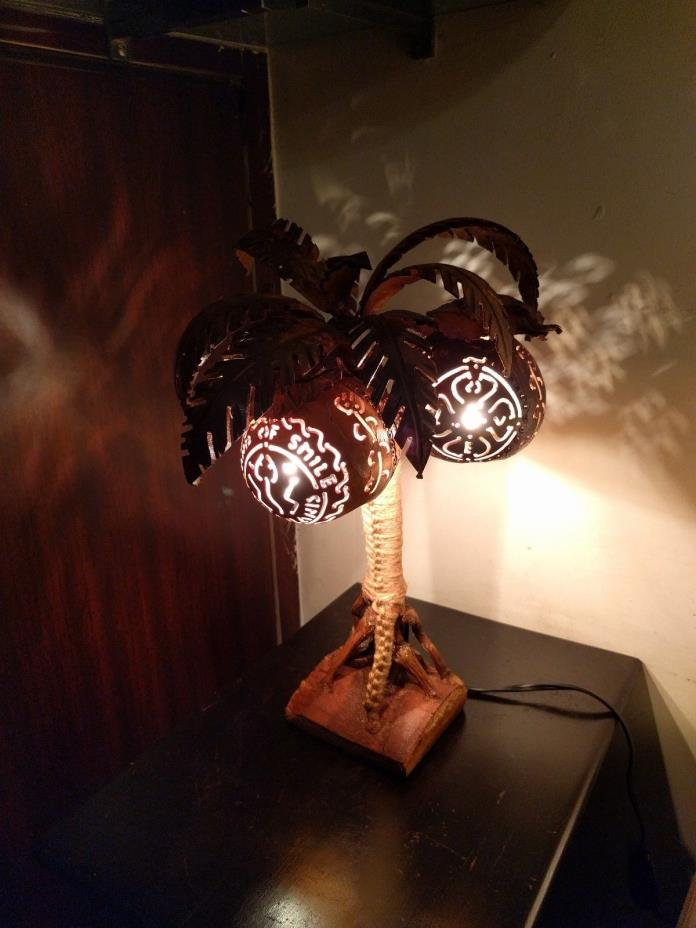 Artificial Thailand Coconut Tree Lamp