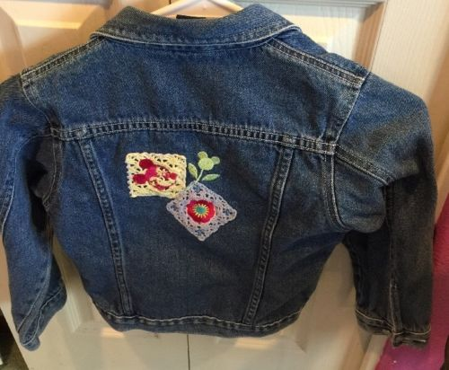 Disney Mickey Mouse Embroidered Jeans Jacket: Size 6x