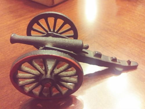 Antique Toy Cannon  Cast Iron  1880's