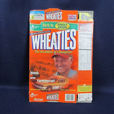 Wheaties Cale Yarborough Nov 29 2001 Racing Cereal Box