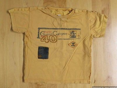 Marese France Boys T-Shirt Size 2a or 2T Gold/Yellow EXCELLENT!!