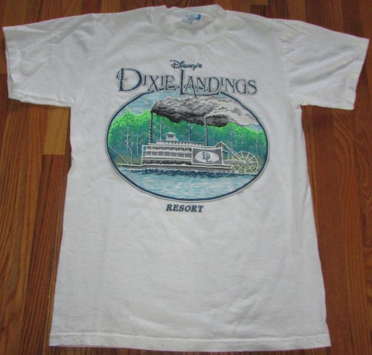 Vintage 1992 Disney Character Fashions Dixie Landings Resort T-Shirt Size Small