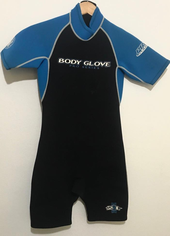 Body Glove Childs Spring Shorty Wetsuit Size 16 Pro Series 2/1 Youth Juniors