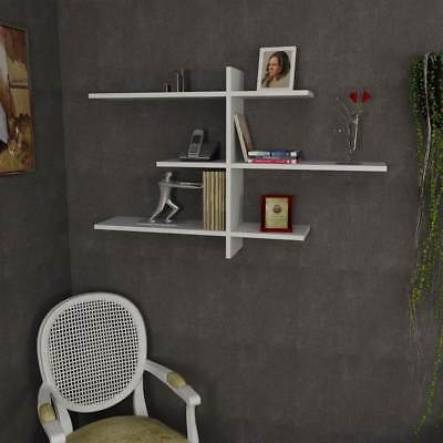 Wacker Wall Shelf in White Finish [ID 3517520]