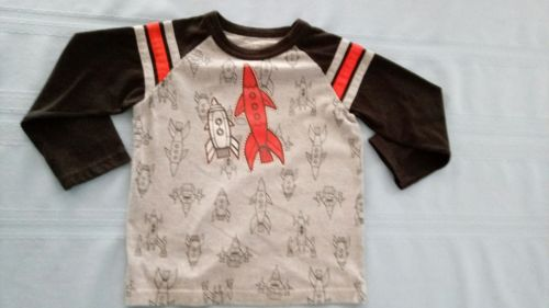Toddler Boys Long Sleeve Shirt Size 4t