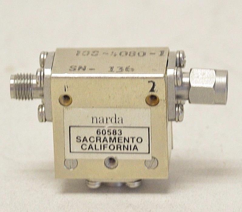 Narda IOS-4080-1 Isolator Circulator 20 dB 4-8 GHz SMA