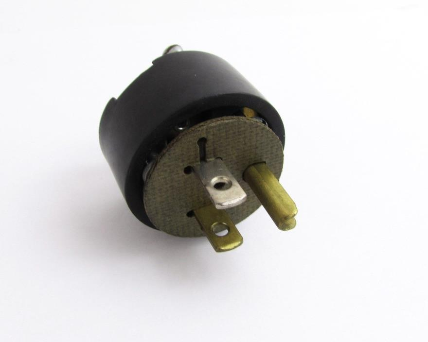 HP 1251-0313 Connector Plug 3 Pin Male =NOS=