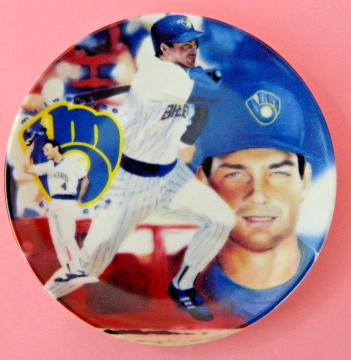 1 Paul Molitor Milwaukee Brewers Baseball Miniature 4