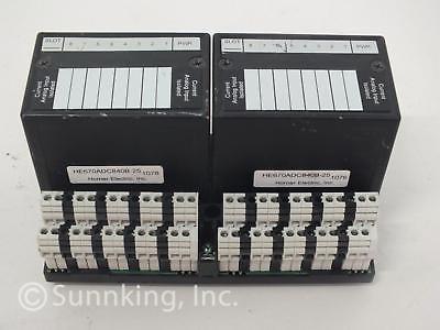 GE Fanuc IC670CHS102A Base w/ (2) Horner Electric HE670ADC840B-25 Input Module