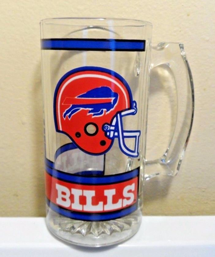 1990's Buffalo Bills NFL Drinking glass / Stein 5 1/2
