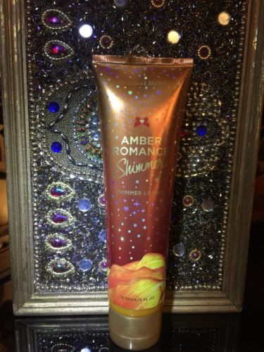 Amber Romance Shimmer Lotion Victoria Secret VS Pink Rare 5 oz.