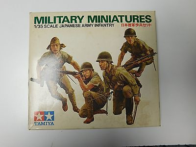 Tamiya Models Military Miniatures Japanese Army Infantry Model Kit #190-200