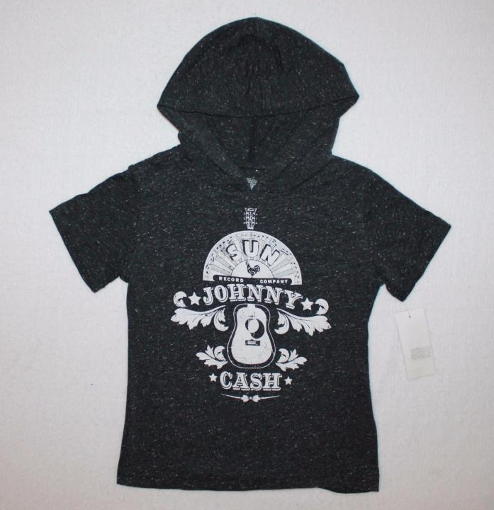 Johnny Cash Sun Records Baby Toddler T-shirt Hoodie Size 5T Color Gray