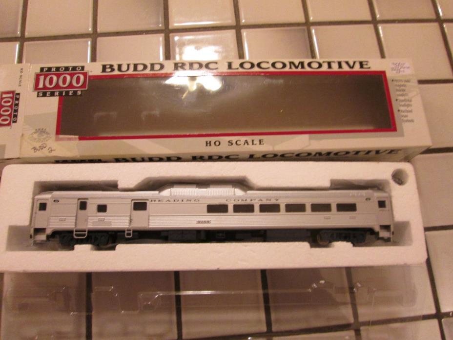 proto 1000 READING COMPANY BUDD RDC powered engine HO scale