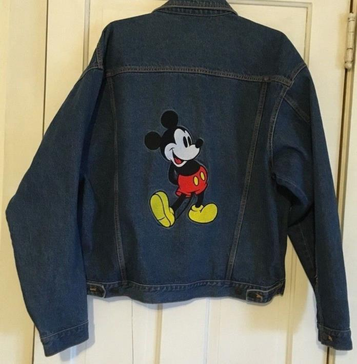 Mickey Mouse Jean Jacket - Size XL