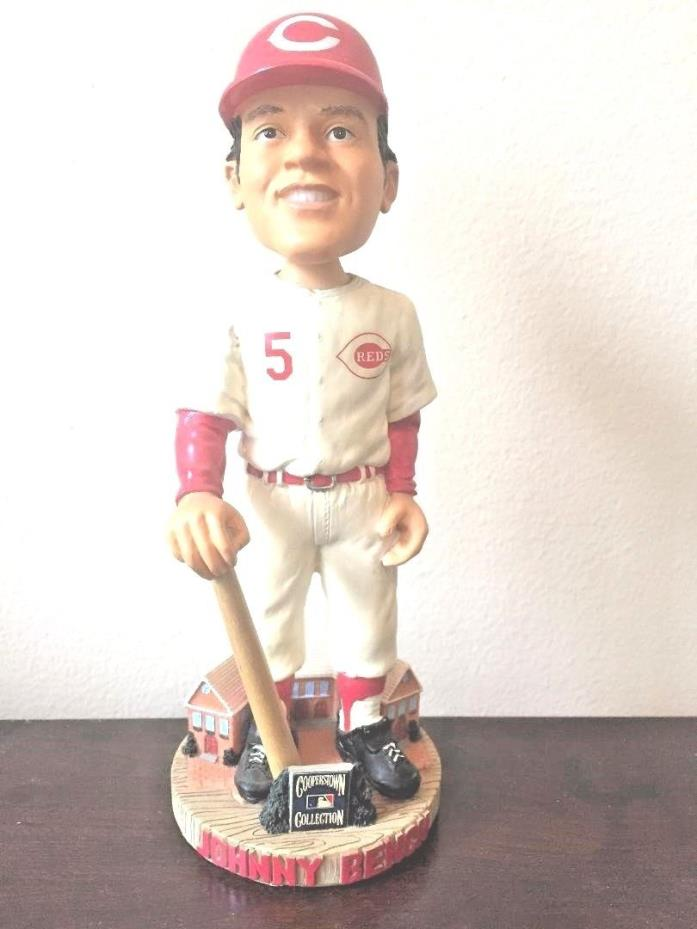 Johnny Bench Forever Cooperstown Collection #143/10000 HOF BobbleheadHand Craft