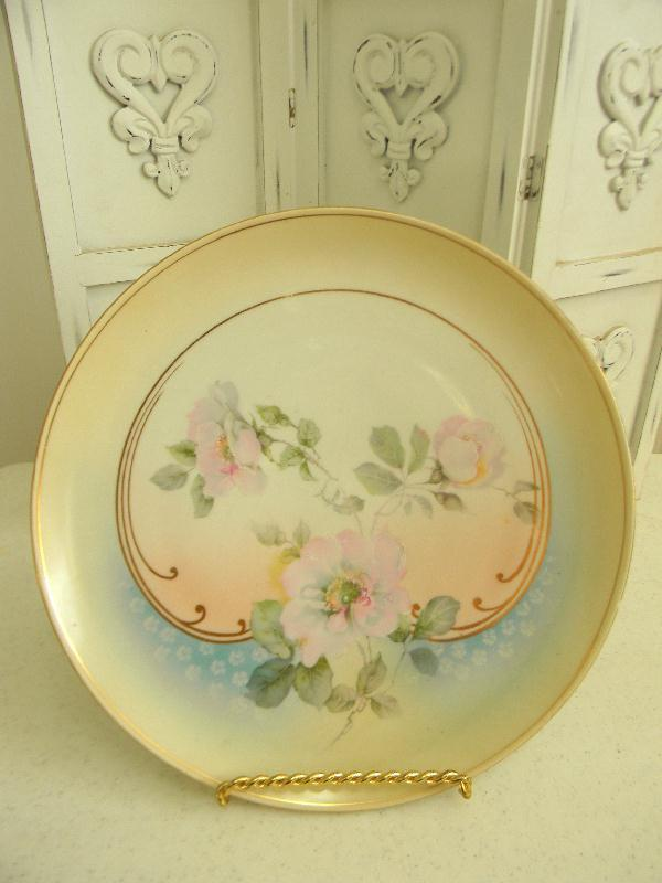 Beautiful Antique Hand Painted Porcelain 12