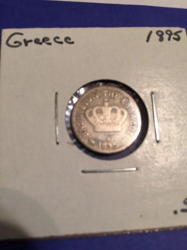 1895 Greece  5 Lepta