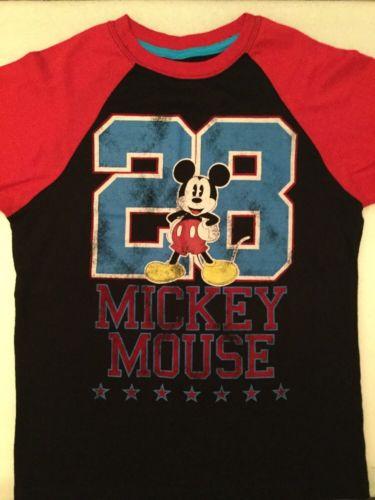 Disney Parks  Mickey Mouse Women's T-Shirt Size L