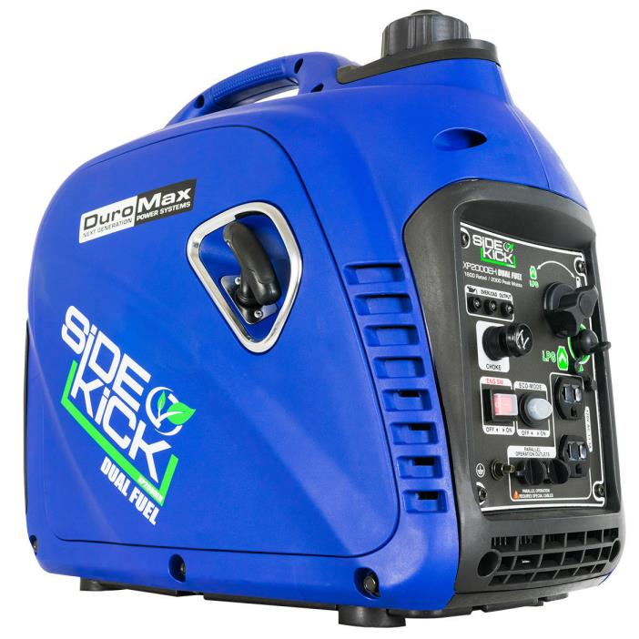 DuroMax XP2000EH-2000W Dual Fuel Inverter Generator FREE SHIPPING TO PUERTO RICO