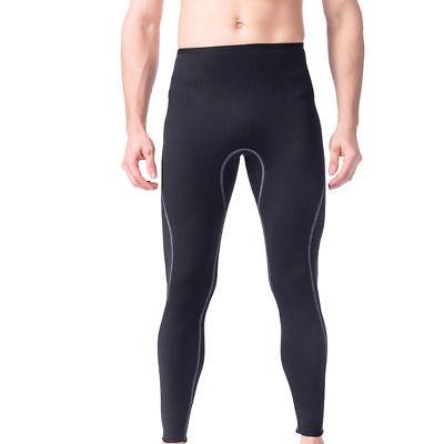Men 3mm Neoprene Wetsuit Pants Surf Scuba Dive Swimming Snorkeling Warm Trousers