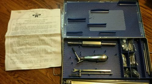 Oral, Maxillo- Facial Surgery Bi-phase Fixation kit by Walter Lorenz Surgical