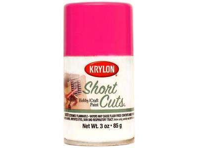 Krylon Shortcuts Aerosol Paints 3oz Hot Pink