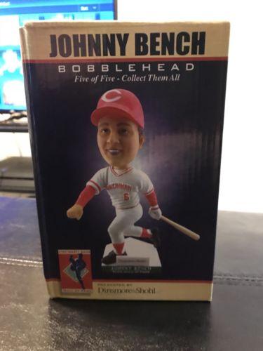 johnny bench bobblehead