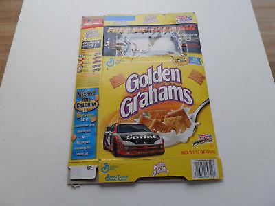 Vintage (200X) Cereal Box: NASCAR (Golden Grahams) (Dodge) SPO