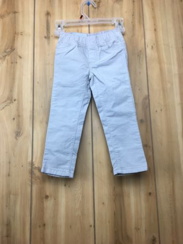 Carter's Little Girls' Stretch Corduroy Pants Grey (2T)