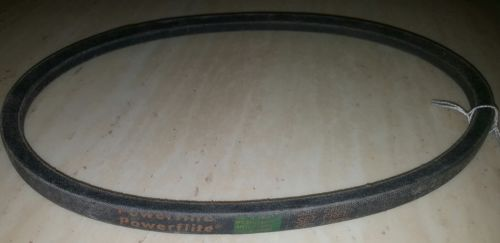 (1) Powerflite A27 A-27 Industrial And Lawnmower V-Belt NOS