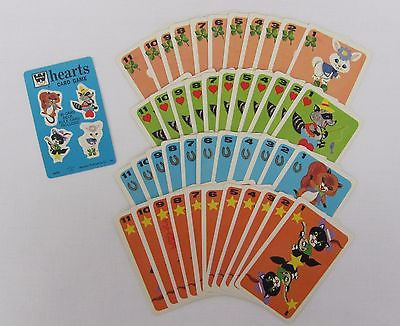HEARTS CARD GAME  Vintage 1963  WHITMAN  Complete  (includes plastic case)