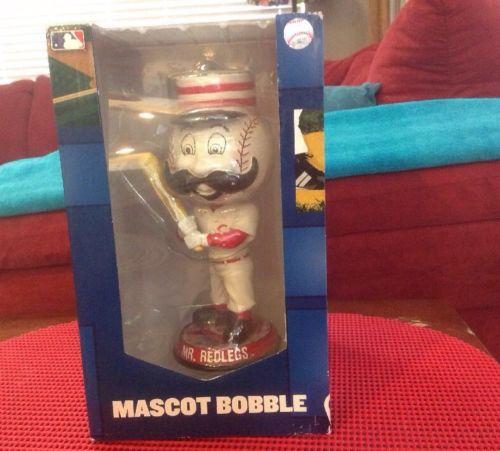 MR. REDLEGS Cincinnati Reds Mascot Bobble Head 2015 All Star Game