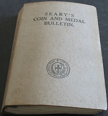 Seaby's Coin and Medal Bulletin 1966 Volume Scarce Collection Of Catalogs