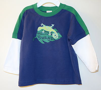 NWT Gymboree Frog Pond Salamander Swamp Top ~ Boy's Size 12-18M