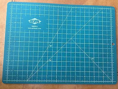Alvin GM0812 8.5 X 11 In. Self-Healing Cutting Mat Green