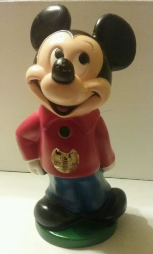 Mickey mouse bank vintage (1970)