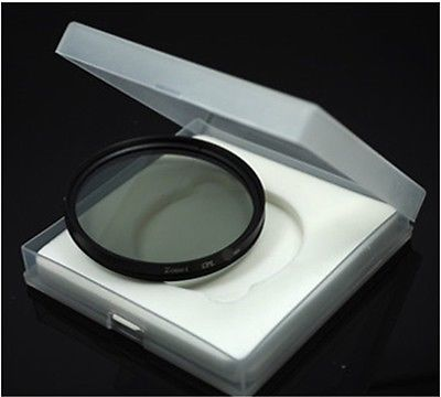 52 mm CPL for the Nikon Canon and other caliber 52 mm SLR digital camera lens