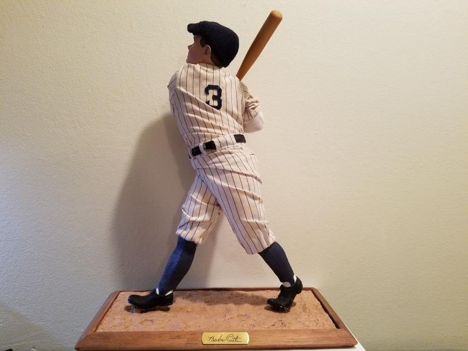 Ashton-Drake Galleries Babe Ruth Limited Edition Legends Series ended 12/31/95