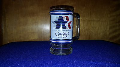 1984 Olympics Commemorative 12 Ounce Glass