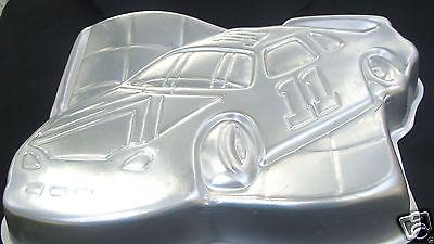 Wilton RACING Race Car Checkered Flag NASCAR Cake Pan Mold