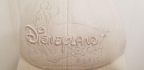 Disneyland Paris Resort Mickey Mouse Beige Tan Baseball Cap Adult Cartoon