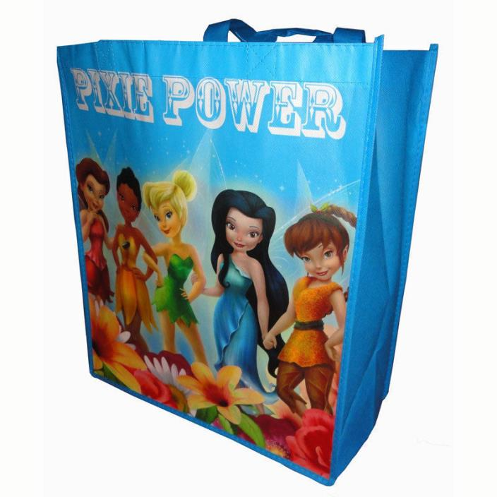 Disney Pixie Power Reusable Shopping Tote Bag Grocery Toys School New