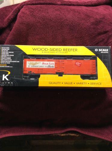 K Line K742-6405 Miller High Life 1st Shipment To Alaska Wood-side Reefer New