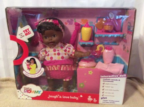Little Mommy Laugh and Love Baby Interactive Doll AA NRFB