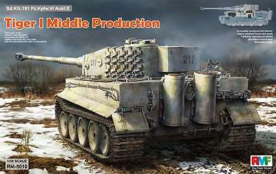 Rye Field 1/35 Tiger I Middle Production w/Full Interior #5010 *nEW*sealed*